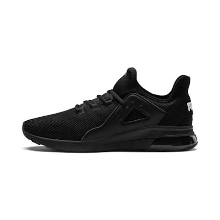 Electron Street Men's Sneakers, Puma Black-Puma Black-Black, small