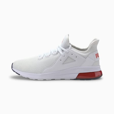 Electron Street SoftFoam+  Sneakers, White-High Risk Red-Peacoat, small-IND