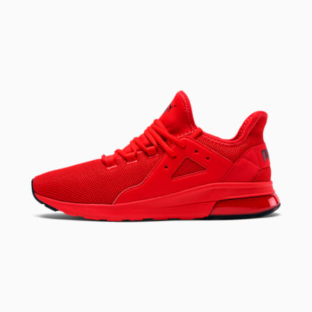 Electron Street Men's Sneakers, High Risk Red-Puma Black, small