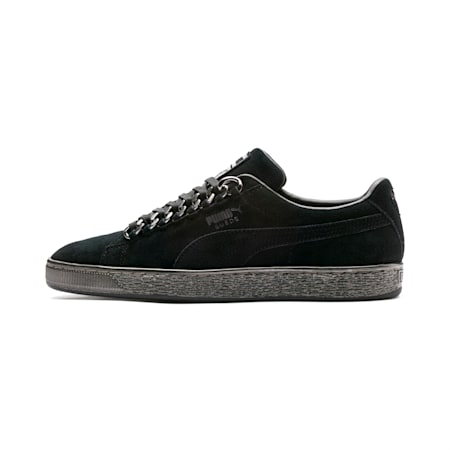 Suede Classic X-chains Shoes, Puma Black-Puma Black, small-IND