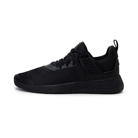 Insurge Eng Mesh Sneakers, Black-Black-Black, small-IND