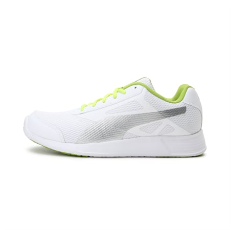 Trenzo IDP Castor Gray-Red Blast-Puma Bl, White-Silver-Limepunch, small-IND