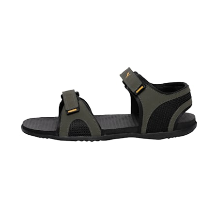 Relay MU IDP Sandals, Forest Night-Black-Sunflower, small-IND