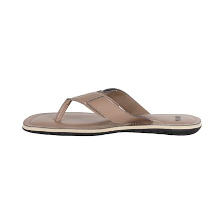 Caper NU IDP Men's Sandals, Taupe Gray-Puma Black, small-IND