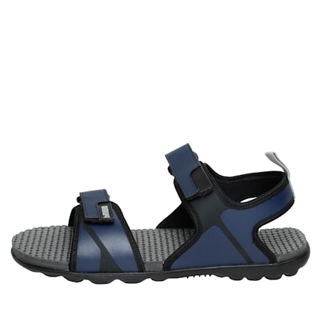 Silicis NU IDP Men's Sandals, Peacoat-Puma Black-Quarry, small-IND