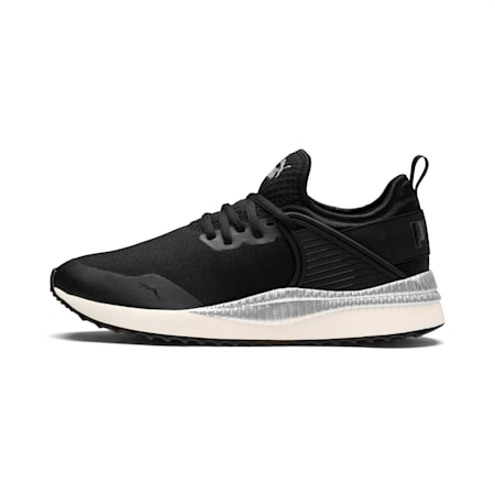 Pacer Next Cage ST2 Women's Sneakers, P Black-Black-Whisper White, small-IND