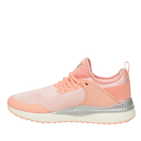 Pacer Next Cage ST2 Women's Sneakers, Peach Bud-Puma Silver, small-IND