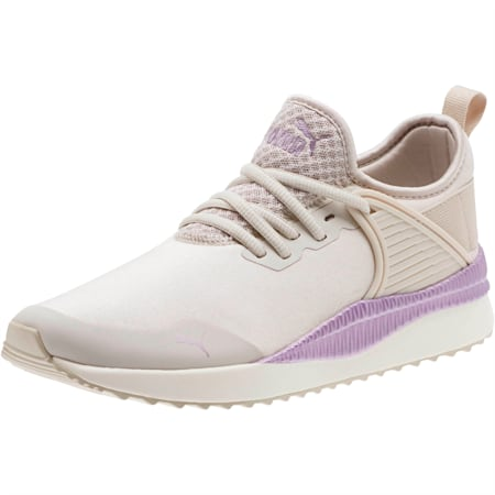 Pacer Next Cage ST2 Women's Sneakers, Silver Gray-Metal. Lavender, small