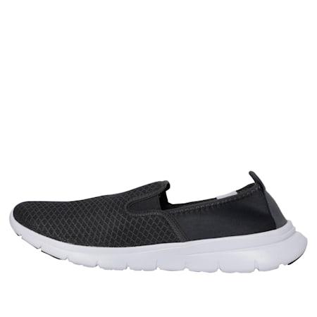 Flex Essential Slip On IDP Walking Shoe, Dark Shadow-Black-White, small-IND