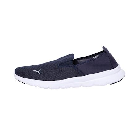 Flex Essential Slip On IDP Walking Shoe, Peacoat-Puma Silver, small-IND