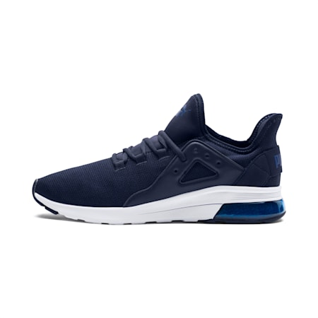 Electron Street Knit Sneakers, Peacoat-Sodalite Blue, small