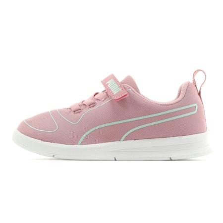 キッズ プーマ カリ V PS 17-21cm, Pale Pink-Fair Aqua-White, small-JPN