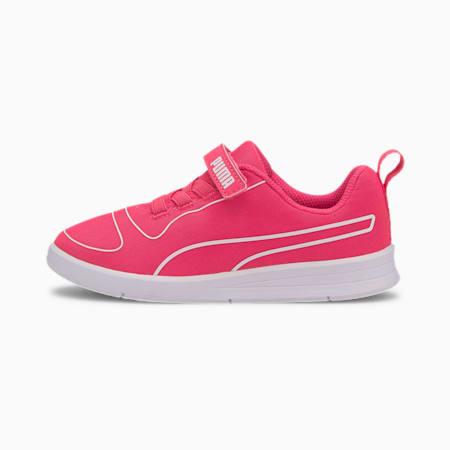 Kali V Kids' Trainers, Glowing Pink-Glow Pink-White, small-SEA
