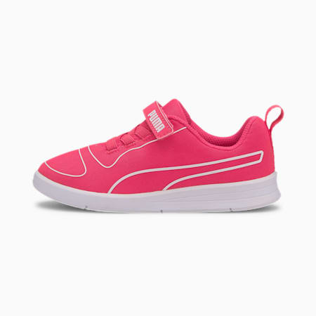 Kali V Kids' Trainers, Glowing Pink-Glow Pink-White, small-SEA