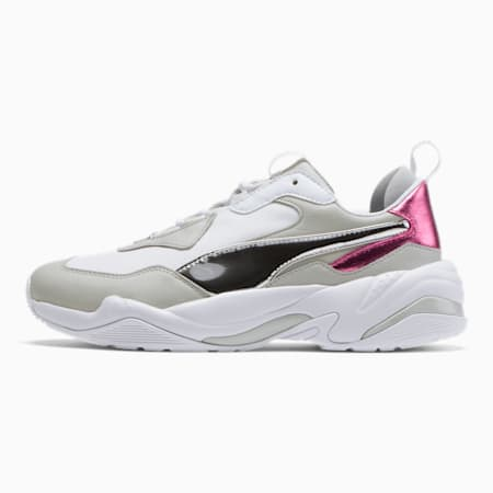 Thunder Electric Women's Sneakers, Puma White-Puma Silver, small