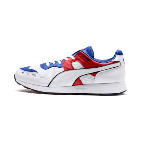 RS-100 SOUND Shoes, Dazzlin Blu-HghRiskRed-White, small-IND