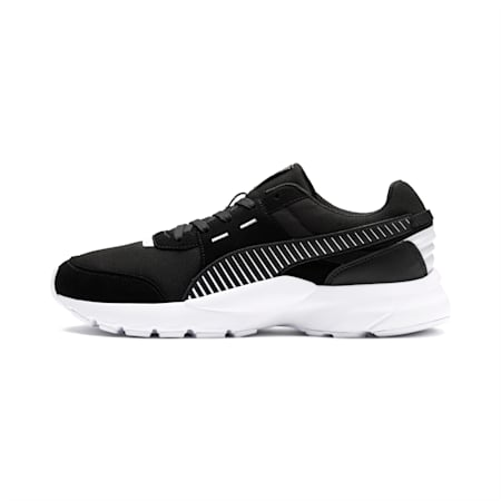Future Runner Running Shoes, P.Black-P. Black-P. White, small-IND