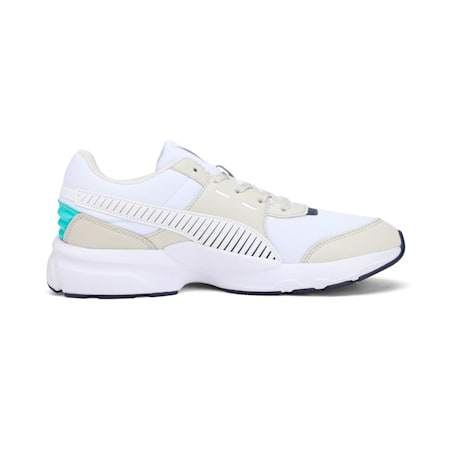 Future Runner Running Shoes, Wht-G Gray-Peacoat-Turquoise, small-IND