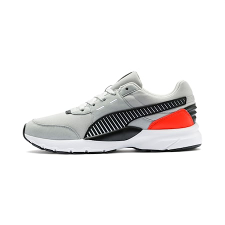 Future Runner Running Shoes, High Rise-Black-C Tomato-Wht, small-IND