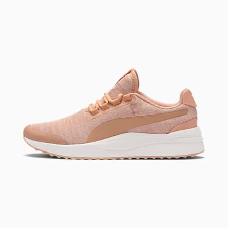 Pacer Next FS Knit Trainers, Dusty Coral-Dusty Coral, small