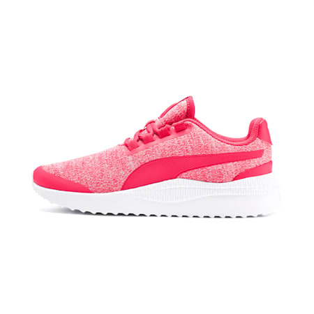 Pacer Next FS Knit Kids' Shoes, Nrgy Rose-Puma White, small-IND