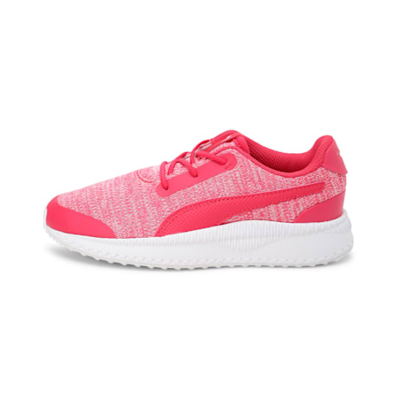 Pacer Next FS Knit AC Kids' Shoes, Nrgy Rose-Puma White, small-IND