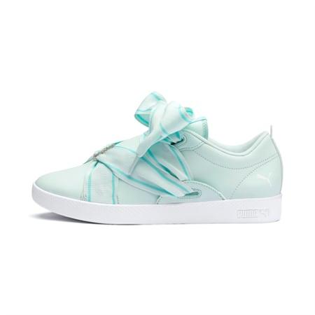 PUMA Smash Women's Buckle Shoes, Fair Aqua-Puma White, small-IND