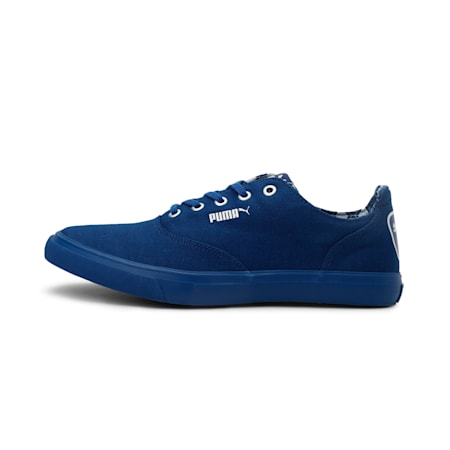 Pop X IDP Men's Sneakers, Sodalite Blue-White-Silver, small-IND