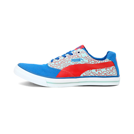 Rap IDP Sneakers, Wht-TurkSea-RibbRed-Aquifer, small-IND
