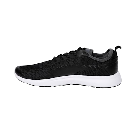 Breakout v2 IDP Men's Running Shoes, Black-Iron Gate-Puma White, small-IND