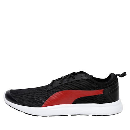 Breakout v2 IDP Men's Running Shoes, Puma Black-High Risk Red, small-IND