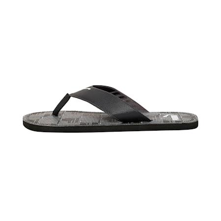 Ketava Men's Camouflage Flip Flops, Asphalt-Quarry-Puma Black, small-IND