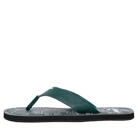 Ketava Men's Camouflage Flip flops, Ponderosa Pine-Black-White, small-IND
