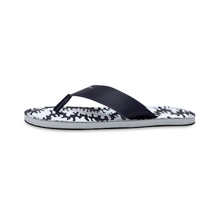 Ketava Men's Camouflage Flip Flops, Peacoat-High Rise-Puma White, small-IND