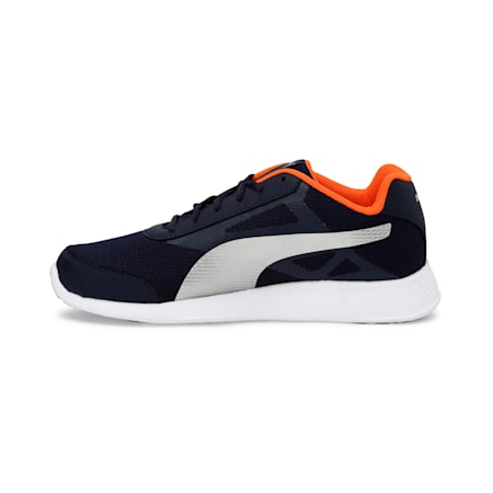 Trenzo II IDP Men's Running Shoes, Puma Black-Jaffa Orange, small-IND
