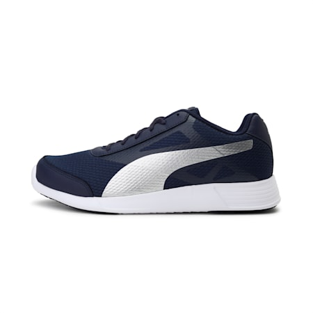 Trenzo II IDP Men's Running Shoes, Peacoat-Silver, small-IND