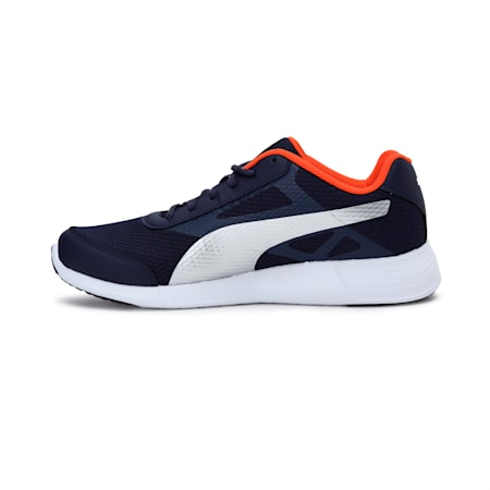 Trenzo II IDP Men's Running Shoes, Peacoat-Vibrant Orange, small-IND