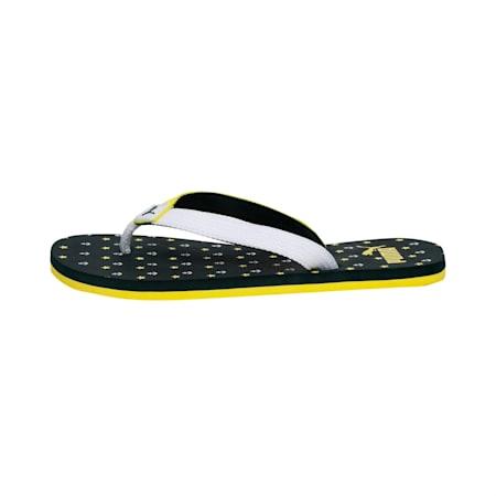 Tiara JR IDP Flip Flops, PondPine-Blaz Yellow-White, small-IND