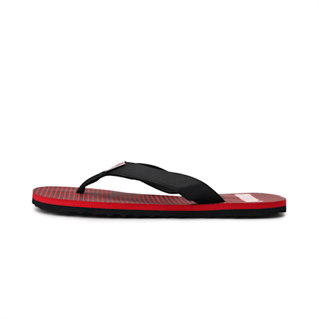 Washy v2 IDP Sandals, Black-High Risk Red- White, small-IND