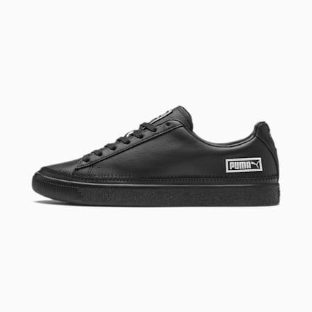 Basket Stitch Sneaker, Puma Black-Silver, small