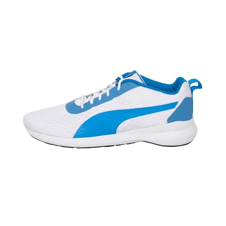 Player v2 IDP Men's Running Shoes, White-Electric Blue Lemonade, small-IND