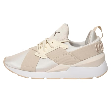 Muse Satin II Women's Shoes, Whisper White-Brazilian Sand, small-IND