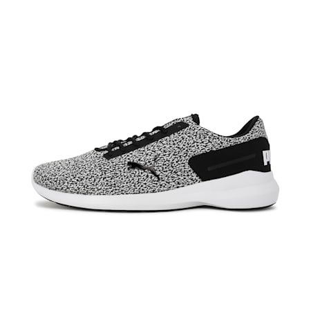 Pacer EL IDP Men's Sportstyle Shoes, Puma White-Puma Black, small-IND