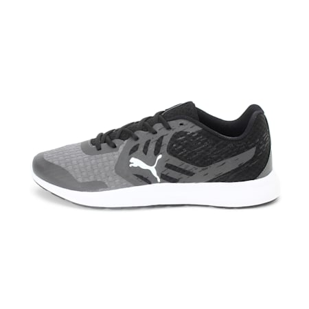 Gamble IDP Men's Sneakers, Steel Gray-Black-Puma White, small-IND
