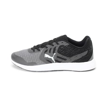 Gamble XT IDP Men's Running Shoe, Steel Gray-Black-Puma White, small-IND