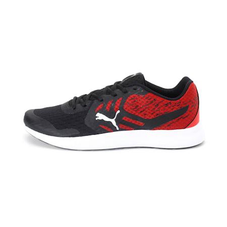 Gamble IDP Men's Sneakers, Puma Black-Ribbon Red, small-IND