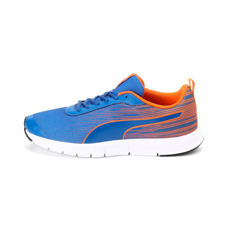 Brisk FR IDP Men's Sneakers, Royal Blue-Vibrant Orange, small-IND