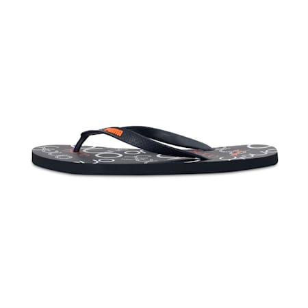PUMA x one8 FF IDP Flip Flops, Peacoat-Orange Pop-Marshmall, small-IND