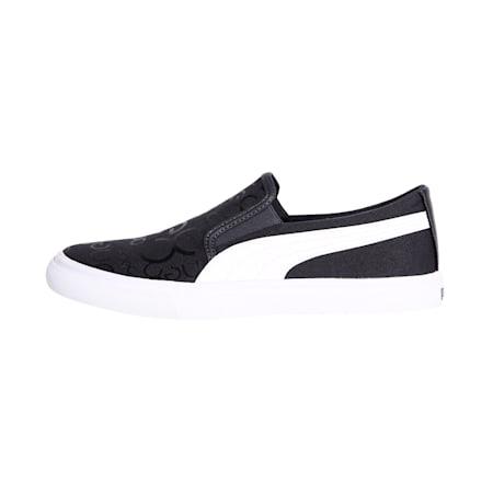 PUMA x one8 Men's Slip-On Sneakers, Iron Gate-Black-Puma White, small-IND