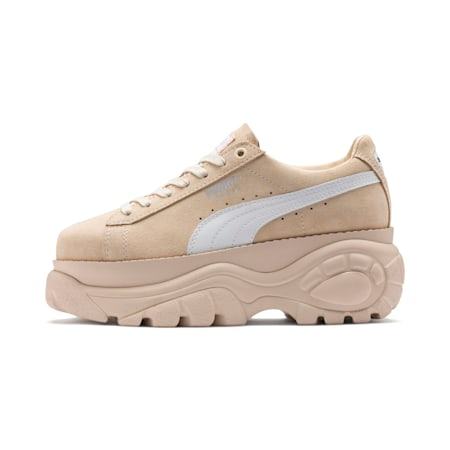 PUMA x BUFFALO Suede Shoes, Dawn-Puma White, small-SEA